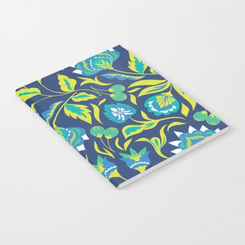 Teal & Green Notebook