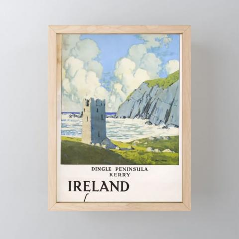 Dingle Peninsula Vintage Placard
