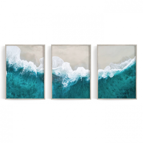Ocean Trio Canvas