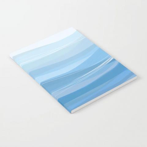 Abstract Wave Notebook
